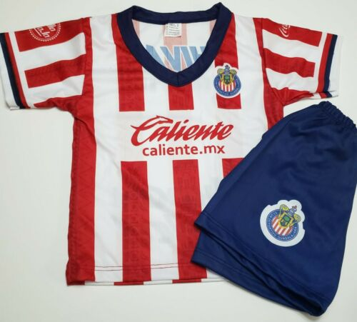 Chivas de Guadalajara Baby Toddler Soccer Jersey and Shorts set