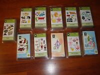Cricut Cartridges Brand - Sealed - You Pick From The Lot