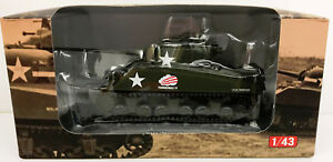 Deagostini 1:43 Tank 1944 Sherman Tank - New - Free Delvery