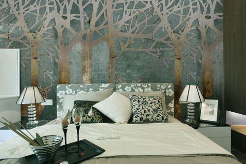 3D Wald Baum Hirsch 83 Tapete Wandgemälde Tapete Tapeten Bild Familie DE Summer | Bekannt für seine schöne Qualität  | Online-Shop  |