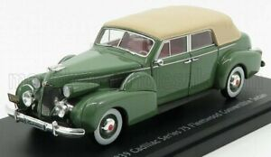 ESVAL MODEL 1/43 CADILLAC   SERIE 75 CABRIOLET CLOSED 1939   GREEN
