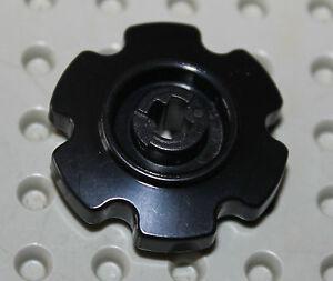 Lego-Black-Technic-Tread-Sprocket-Wheel-Small-ref-57520-set-7632-8294-9457-21303
