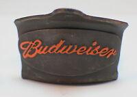Die Cast Metal Bottle Opener Budweiser Beer With Antique Patina