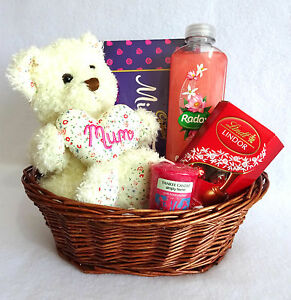 Image Is Loading Mothers Day Gift Basket Hamper Mum Birthday