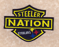 5 Pittsburgh Steelers Steeler Nation Iron-on Logo Jersey/sweater Patch