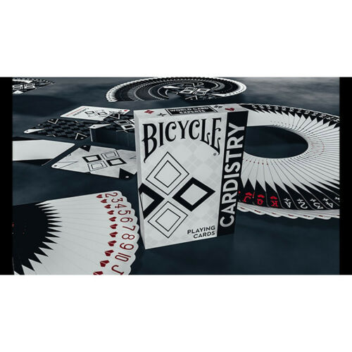Mazzi di Carte Mazzo di carte Bicycle Cardistry Black and White Playing Cards
