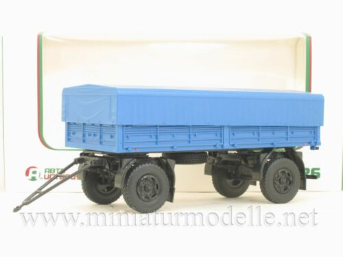 1:43 MAZ 8926 Pritsche Anhänger ZIL KAMAZ trailer UdSSR USSR Russishe Russia OVP