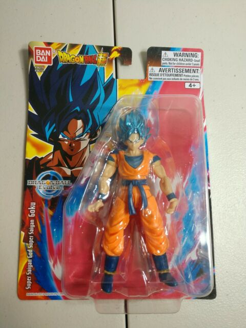 Bandai Dragon Ball Super Evolve Super Saiyan Blue Goku 5 Inch Action Figure