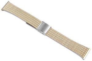 Edelstahl-Ersatzarmband-Uhrenband-Silber-Gold-20-mm-Ersatzband-X-823010000220