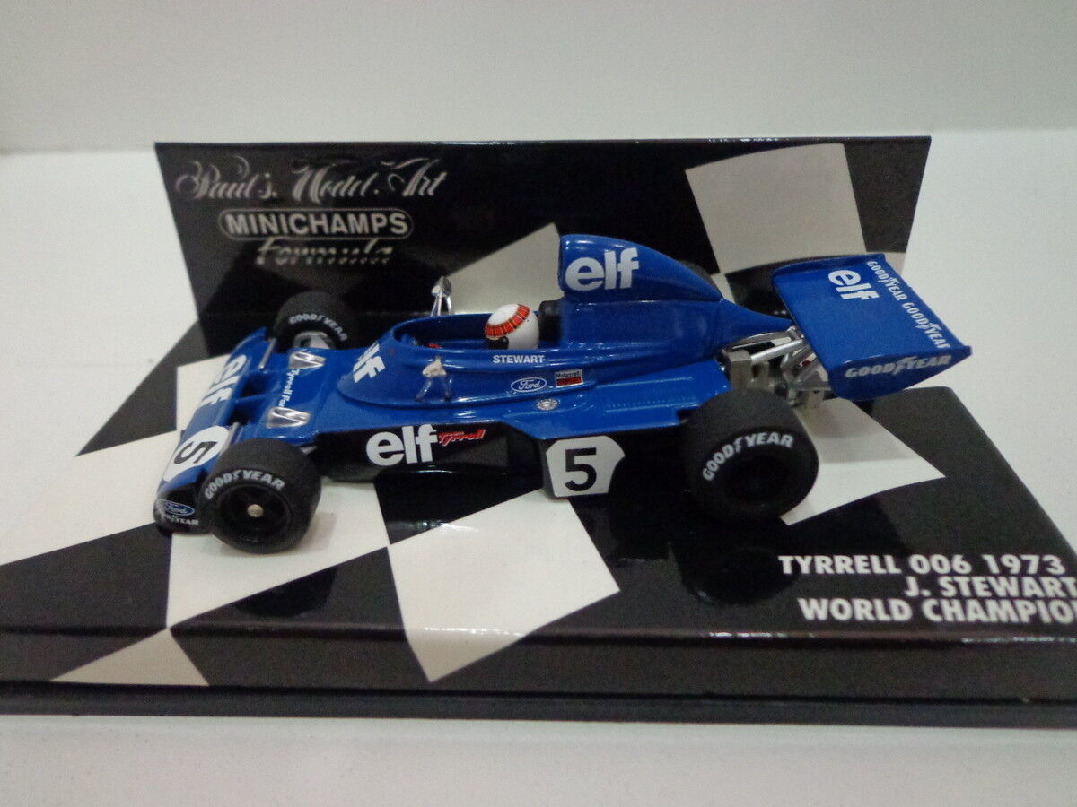 Tyrrell 006 1973 Stewart first edition 1 43 minichamps 430730005