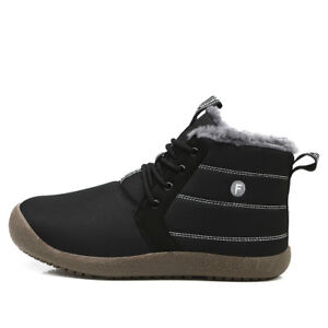 Men-amp-Women-Fur-Outdoor-Boots-Athletic-Anti-Slip-Trail-Waterproof-Warm-Sport-Shoes