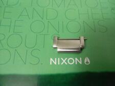 Nixon The Platform Silver extra watch link