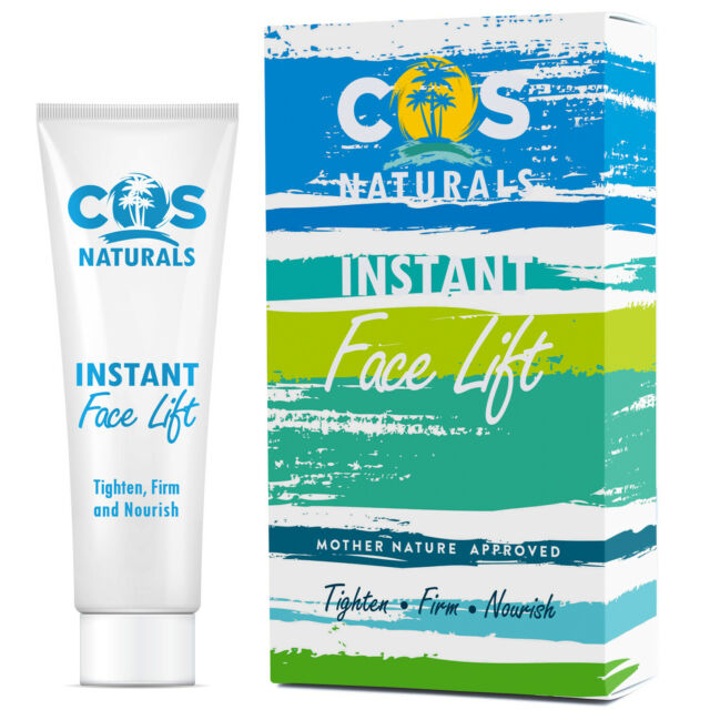 Cos Naturals Instant Face Lift Cream Anti Aging Remove Wrinkles 15 Ml A4 For Sale Online Ebay