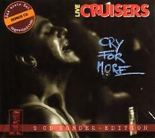 CRUISERS - Cry For More  2CD Sonder-Edition Rockabilly live