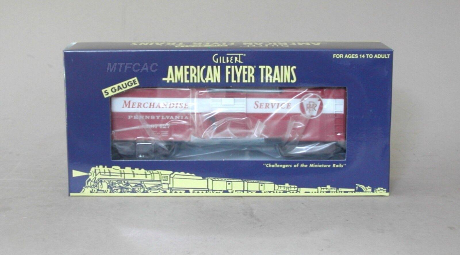 Lionel American Flyer 6-44076 PRR Merchandise Service Box Car 567427