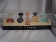 Rare Coffret collector Parfum miniatures ancien x 5 DALI COLLECTION