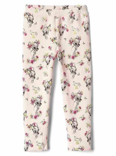 NWT Gap Baby Disney Bambi Leggings Pants Pink   96% Cotton/4% Spandex