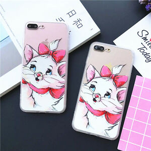 Cute-Marie-Hard-Phone-Case-Skin-for-iPhone-X-amp-7-8-Plus-amp-iPhone-5S-SE-6-6S-Plus