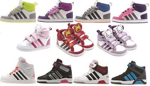 Adidas NEO Hoops Animal Mid / BB9TIS / Babyschuhe Kinder Schuhe