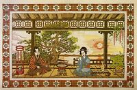 Vintage Paragon oriental Splendor Crewel Embroidery Kit Nip 1979