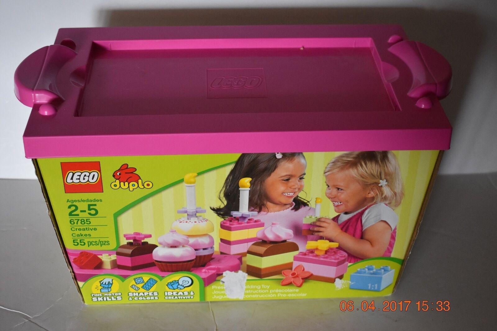 LEGO DUPLO Creative Cakes Cupcake Bakery  6785 Retirot COMPLETE