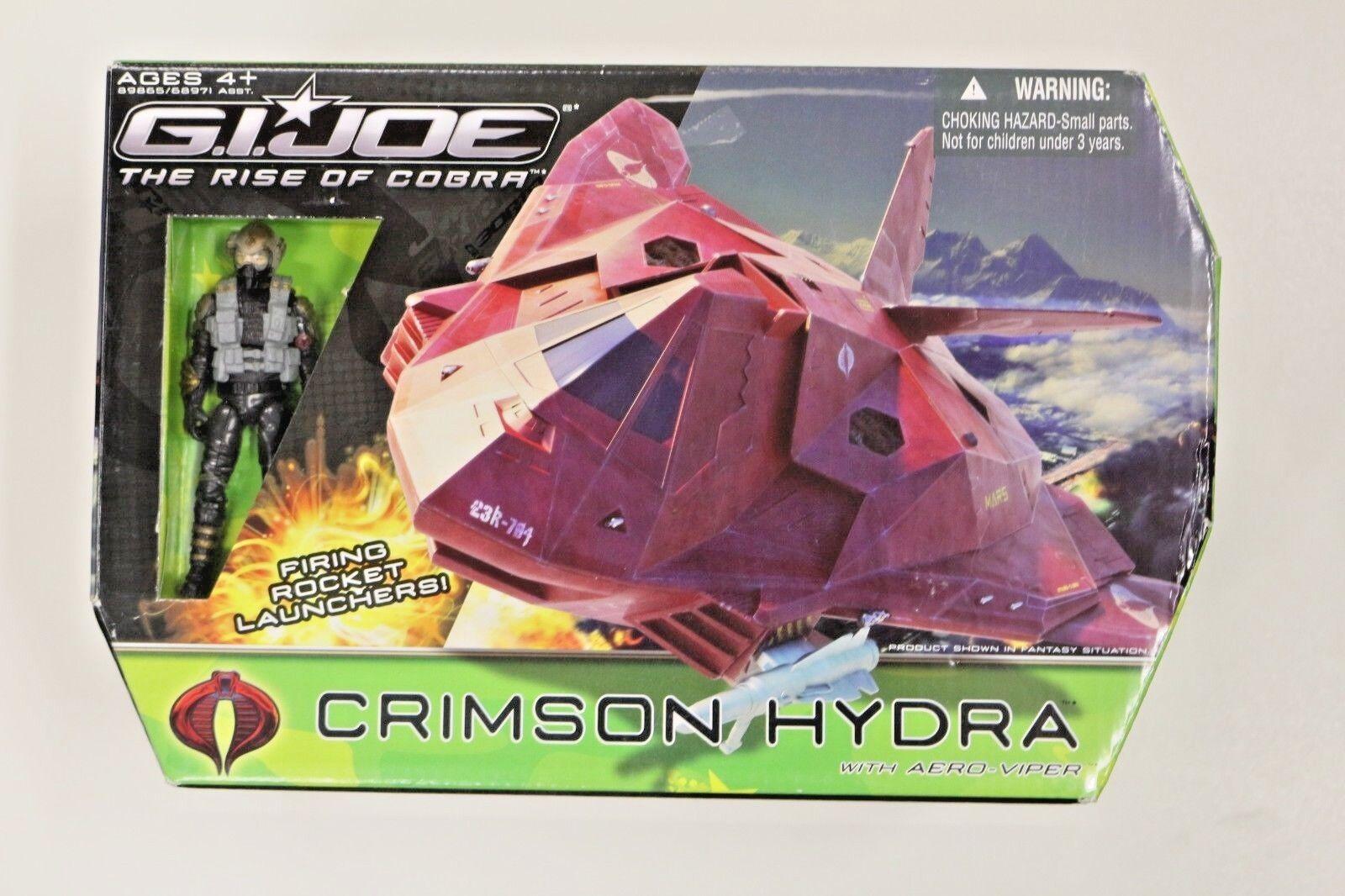 G.I. Joe Crimson Hydra with Aero Viper Rise of Cobra Pursuit