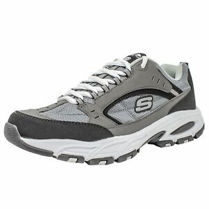 Details about SKECHERS MEN\u0027S FREEFALL-ULTIMATE OUTCOME ACTIVE SHOE  CHARCOAL/BLACK SIZE: 9 NEW