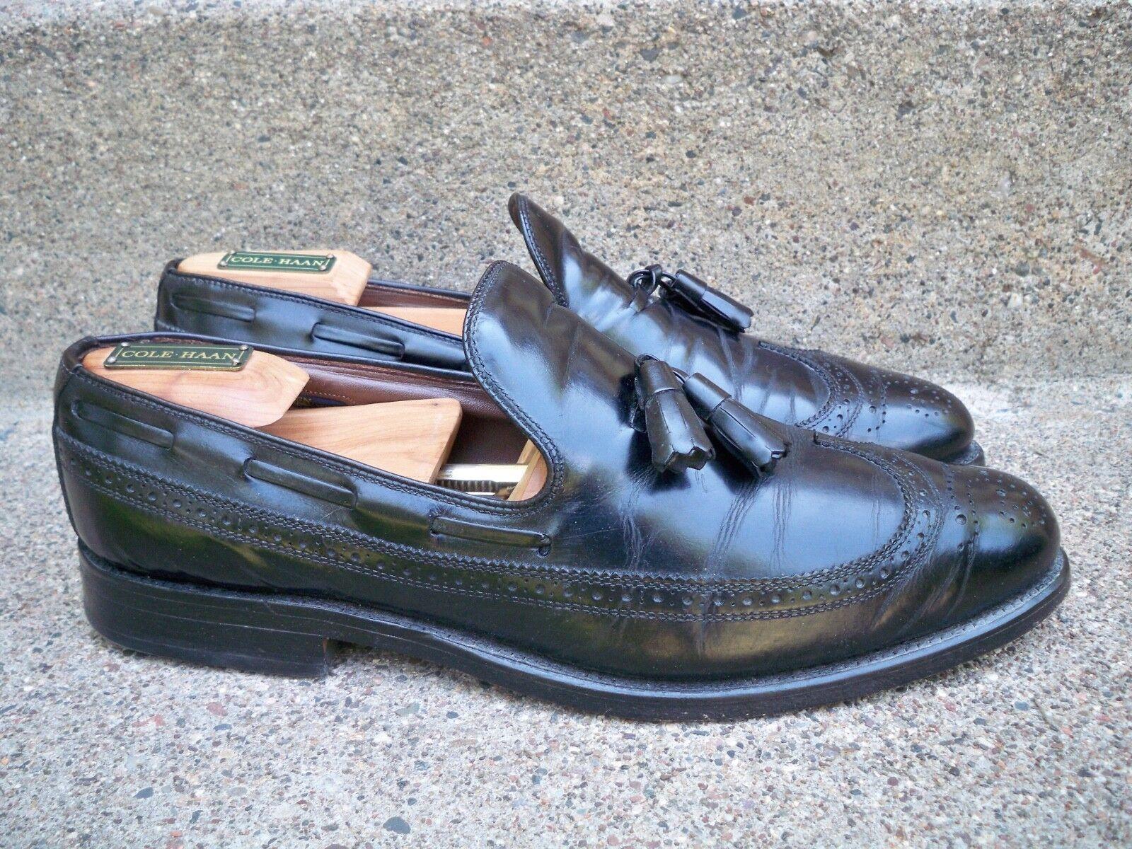 memorizzare Vintage Vintage Vintage Allen Edmonds  Berwick  Penny Leather Slipon Loafer scarpe Uomo Dimensione 10  ecco l'ultimo