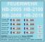 Indexbild 2 - Mickon Ergänzungs Decals Feuerwehr Bremen passend für Herpa Busch Rietze 1:87 H0