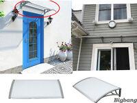 Door & Window Canopy Awning Porch Sun Shade Shelter Patio Rain Cover Garden