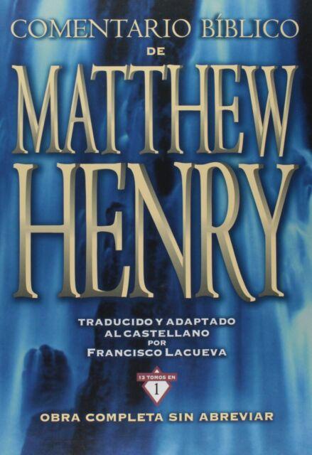 Viajaremos Biblico Matthew Henry: obra completa sin abreviar - 13 Tomos en 1 por