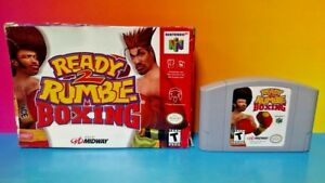 Ready-2-Rumble-Boxing-Nintendo-64-N64-Cart-Tested-Authentic-w-Box-1-2-Players
