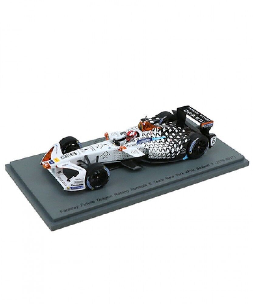 Nouveau SPARK 1 43 Scale Faraday futur Dragon RACING Nº 6 NEW YORK saison 3