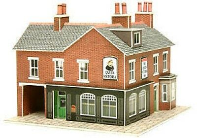 Metcalfe PN116 Card- Corner Shop & Pub. (N) Railway Model