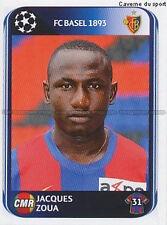 N°324 JACQUES ZOUA # CAMEROON FC.BASEL UEFA CHAMPIONS LEAGUE 2011 STICKER PANINI