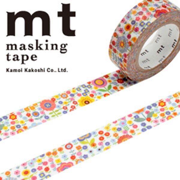 MT Washi Masking Deco Tape Small Flowers Design