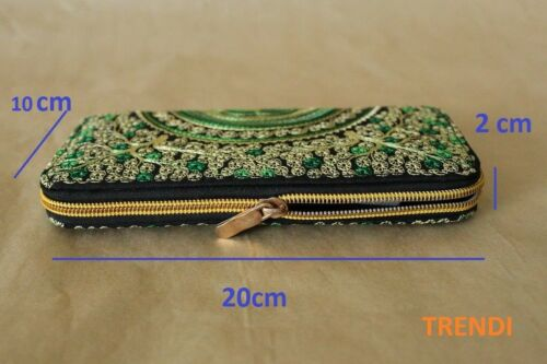 Limited edition Genuine Embroidered Vintage Tribal BOHO wallet clutch purse MIX