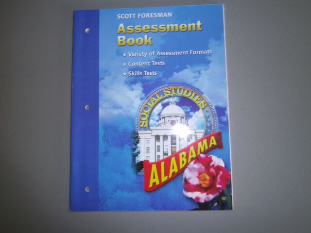 Scott Foresman Alabama Social Studies Grade 4 Assessment Book 9780328091089 For Sale Online Assessment, book, dresses, fashion, moda, fashion styles, curve dresses, fasion, books. scott foresman alabama social studies grade 4 assessment book 9780328091089