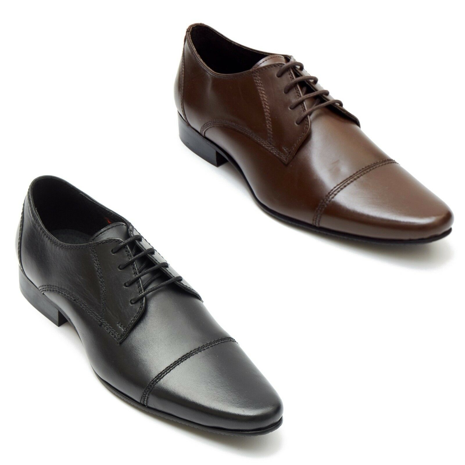 NEW MENS REAL LEATHER OFFICE ITALIAN CASUAL FORMAL OXFORD OFFICE LEATHER WEDDING SHOES 763a8b