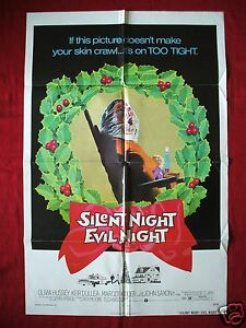Black Christmas 1974.Details About Black Christmas 1974 Original Movie Poster Silent Night Evil Night Halloween