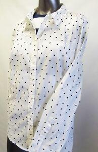 Tommy Hilfiger Damen Bluse Hemd Weiß Gr NEU M
