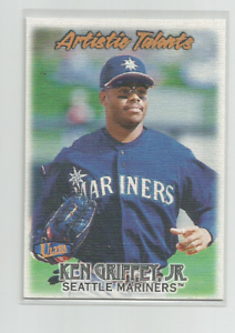 KEN-GRIFFEY-JR-Seattle-Mariners-1998-FLEER-ULTRA-ARTISTIC-TALENTS-CARD-1AT