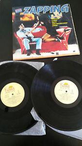 ZAPPING-DOBLE-2-X-LP-VINILO-VINYL-12-034-1994-SPANISH-EDITION-G-VG-KONGA-MUSIC