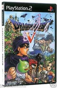 Used-PS2-Dragon-Quest-V-SONY-PLAYSTATION-2-JAPAN-IMPORT