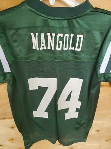 Details about Nick Mangold New York Jets Reebok Youth Small 10-12 NFL Jersey NYC NBA