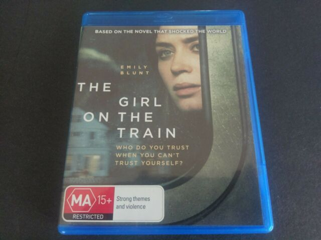 THE GIRL ON THE TRAIN - BLURAY BLU-RAY -OZ SELLER- FREE POSTAGE