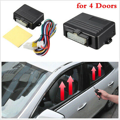 12V Car Automatic Window Closer Car Window Module Security Systems For 4 Doors