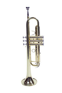 Le'Var LV100 Student Trumpet with Case and Silver Plated Mouthpiece