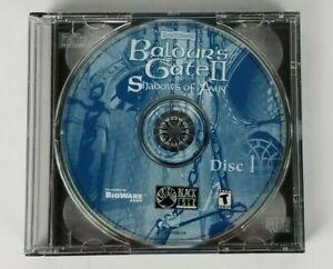Baldur-039-s-Gate-II-Shadows-of-Amn-CD-Rom-PC-Game-2000