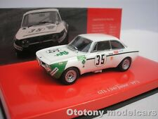 ALFA ROMEO GTA 1300 JUNIOR #35 JARAMA 1972 COLZANI 1/43 MINICHAMPS 436721235